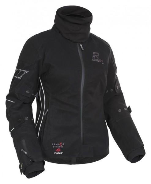 RUKKA Damen GORE-TEX® Textiljacke ORBITA schwarz-silber