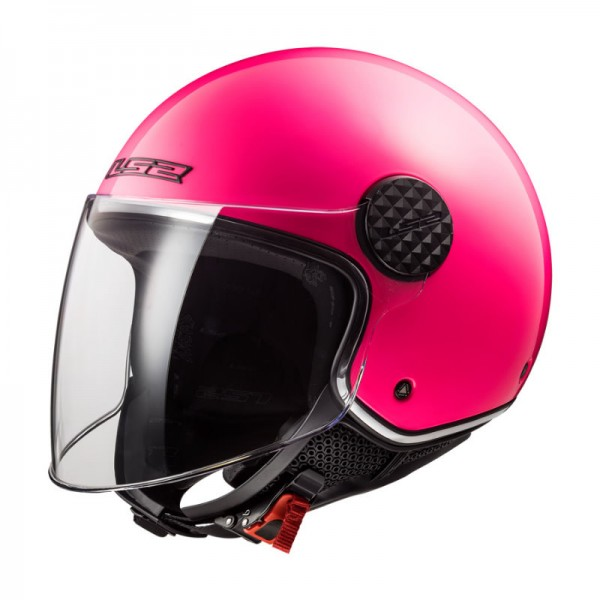 LS2 Jethelm OF558 SPHERE LUX pink