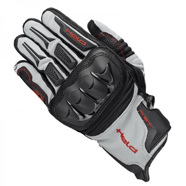 HELD Handschuhe SAMBIA ADVENTURE schwarz-grau-rot