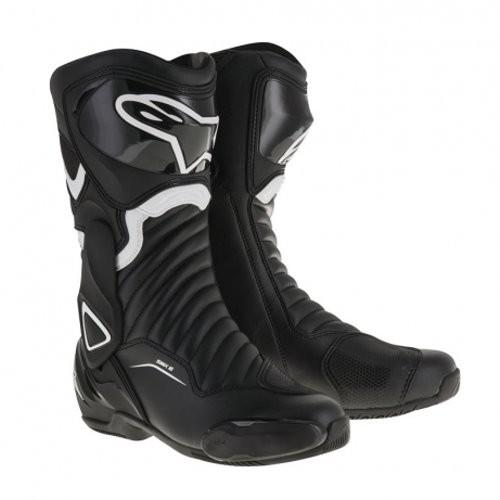 ALPINESTARS Motorradstiefel SMX-6 V2 schwarz-weiss