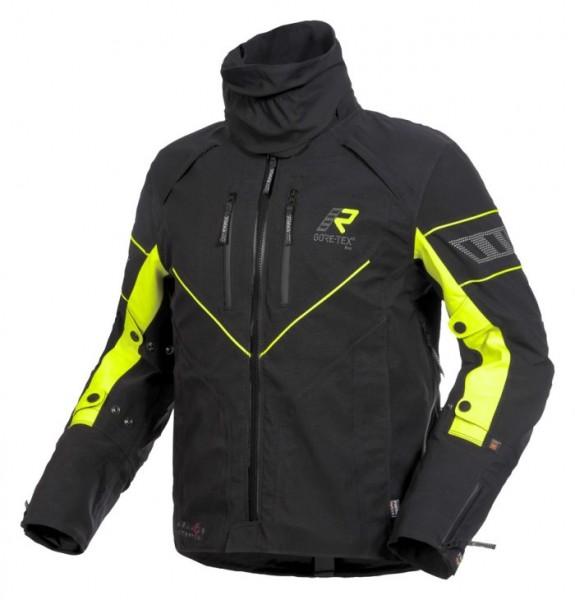 RUKKA Textiljacke REALER schwarz-gelb GORE-TEX®