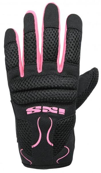 IXS Damen Sommer Handschuhe SAMUR EVO schwarz-violett-pink