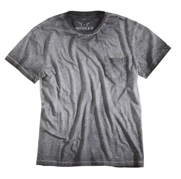 ROKKER T-Shirt LAHINA drak grey