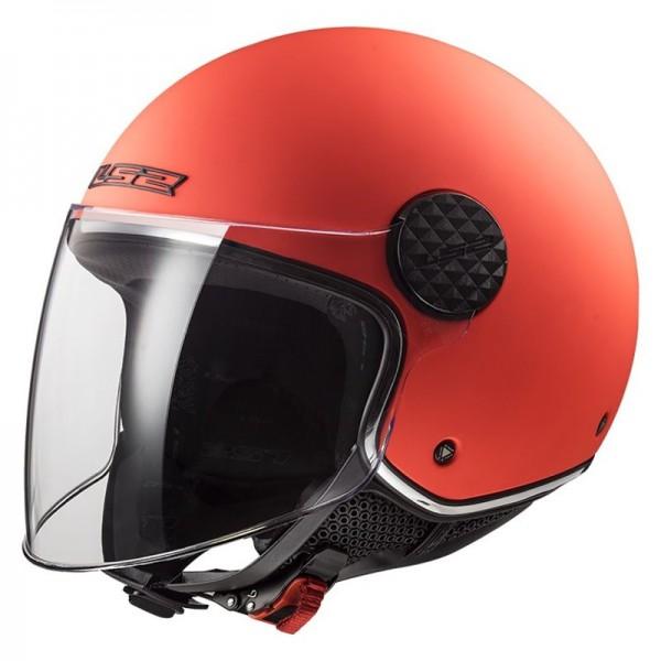 LS2 Jethelm OF558 SPHERE LUX orange