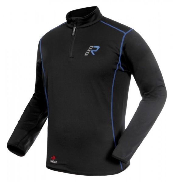 RUKKA Fuktionsshirt KIM Shirt Langarm schwarz-blau