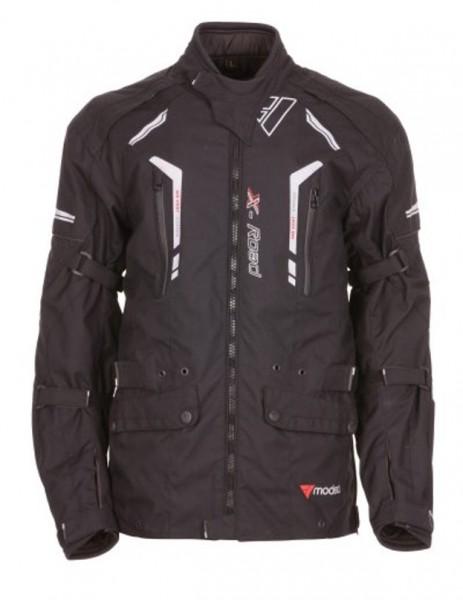 MODEKA Textiljacke X-ROAD schwarz