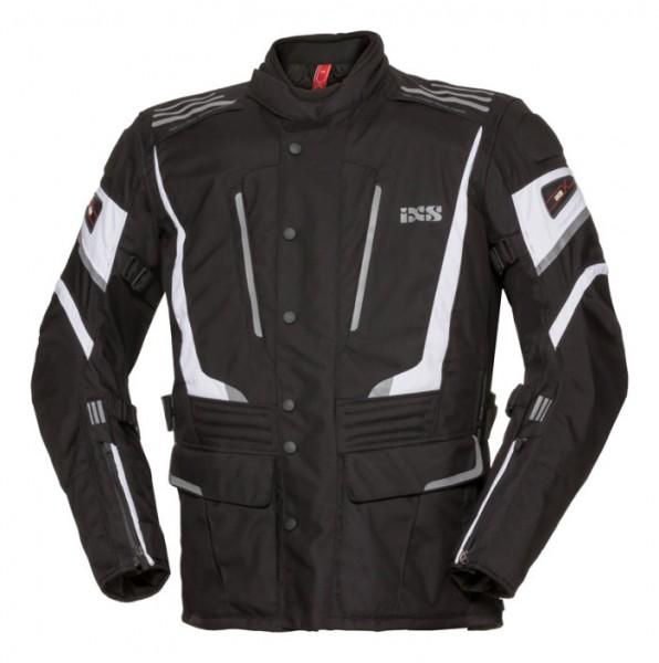 IXS Textiljacke POWELLS-ST schwarz-weiss