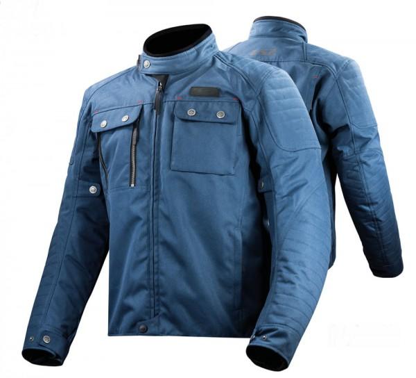 LS2 TextiljackeVESTA wasserdicht blau