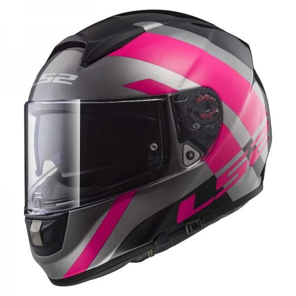 LS2 Integralhelm FF397 VECTOR TRIDENT pink