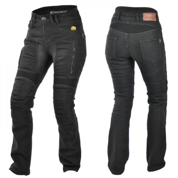 TRILOBITE Kevlar Damen Jeans PARADO mit TÜV CE schwarz