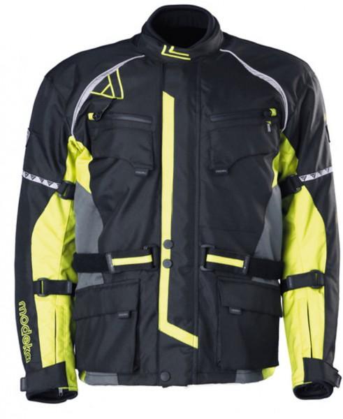 MODEKA Textilacke TOUREX wasserdicht schwarz-gelb