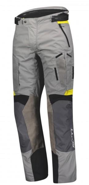 SCOTT Textilhose SCO DUALRIDE DRYO grau-gelb