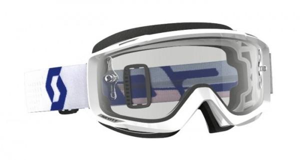 SCOTT Motocross Brille Split OTG für Brillenträgerweiss-rot