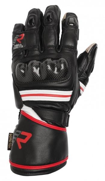RUKKA Handschuhe IMATRA schwarz-rot Gore-Tex