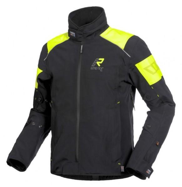 RUKKA Textiljacke THUND-R schwarz-gelb