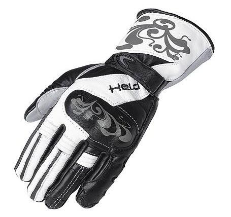 HELD Damen Handschuhe HOLLY SP schwarz-weiß