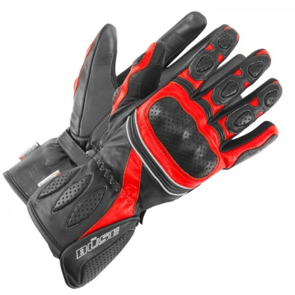 BÜSE Sport Handschuhe PIT LANE schwarz-rot