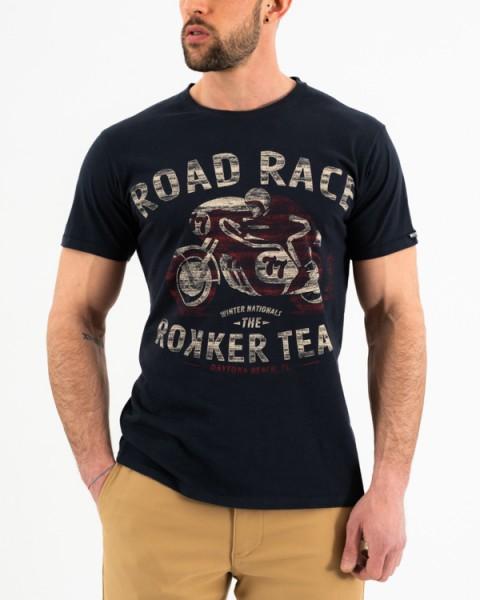 ROKKER T-Shirt ROAD RICE blue