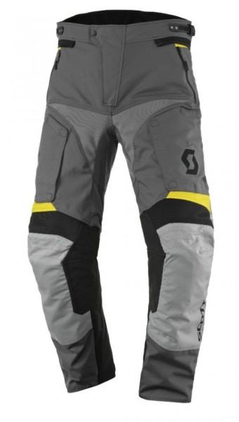 SCOTT Textilhose DUALRIDE DP grau-gelb