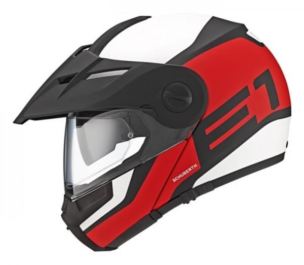 SCHUBERTH Dualsport-Helm E1 GUARDIAN rot