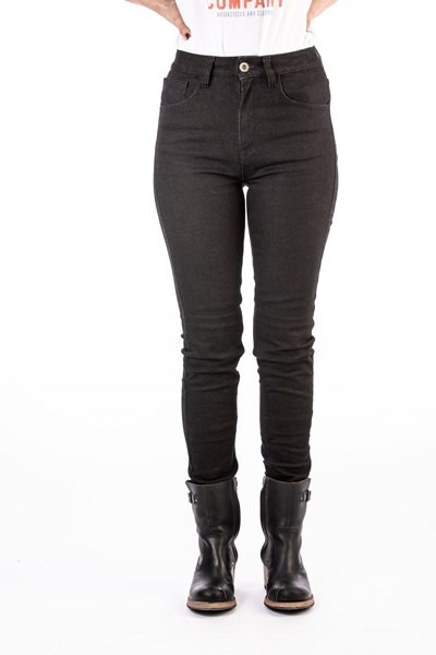ROKKER Jeans Rokkertech HIGH WAIST SLIM black