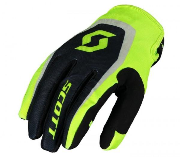 SCOTT Handschuhe 350 DIRT schwarz-gelb