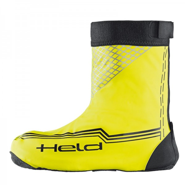 HELD Regenüberschuhe BOOT SKIN SHORT schwarz-neongelb
