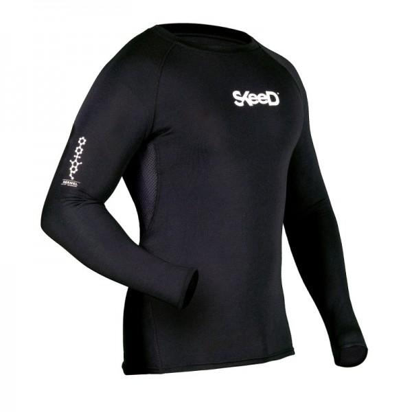 SKEED Fuktionswäsche MOTO-STELVIO AIR Shirt