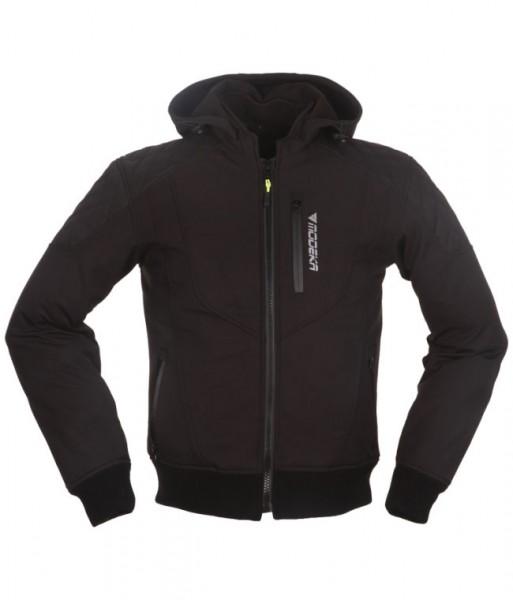 MODEKA Softshell-Jacke CLARKE wasserdicht schwarz