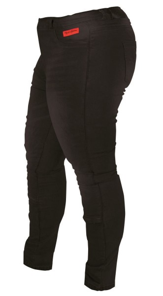 RUSTY STITCHES Damen Jeans SUPER ELLA schwarz