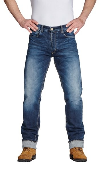 ROKKER Jeans IRON SELVAGE 1050 blau