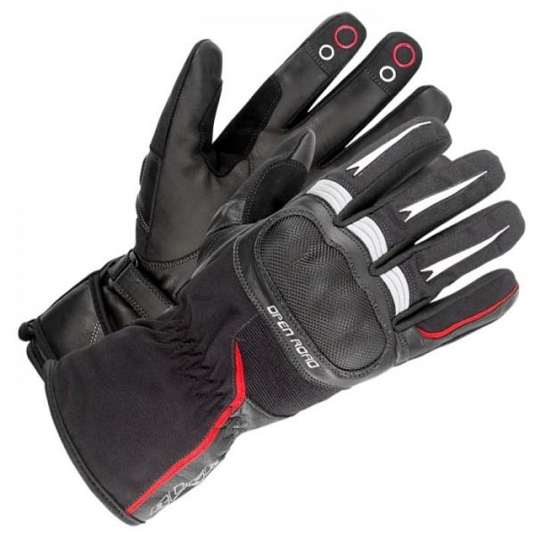 BÜSE Handschuhe OPEN ROAD TOURING schwarz