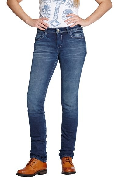 ROKKER Damen Jeans ROKKERTECH PANT LADY 2410 blau