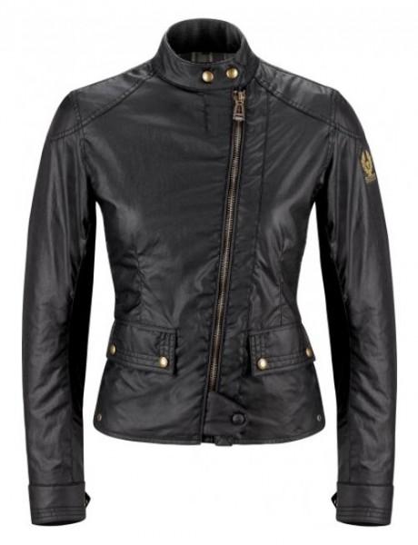 BELSTAF Damen Wachsjacke BRADSHAW 60Z-Wax schwarz