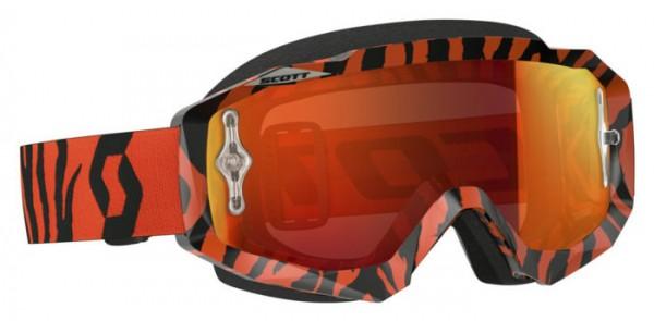 SCOTT Motocross Brille HUSTLE MX orange verspiegelt