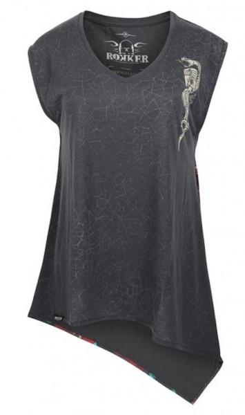 ROKKER T-Shirt COBRA LADY schwarz