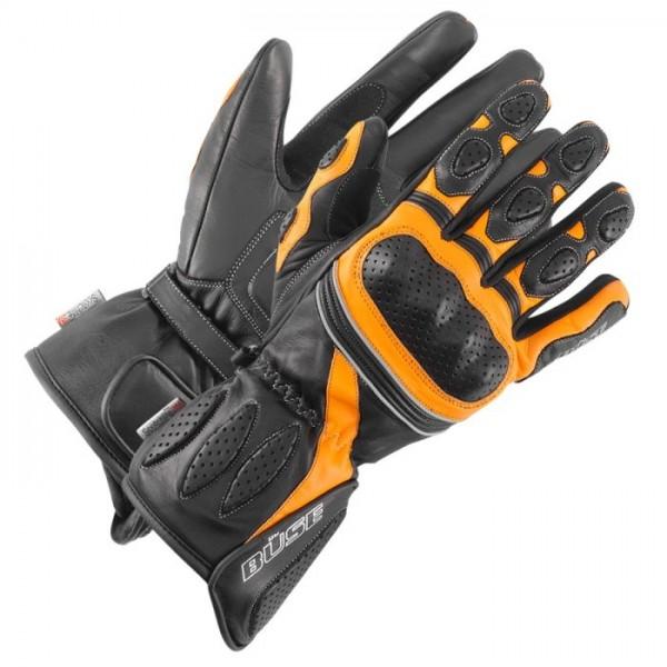 BÜSE Sport Handschuhe PIT LANE schwarz-orange