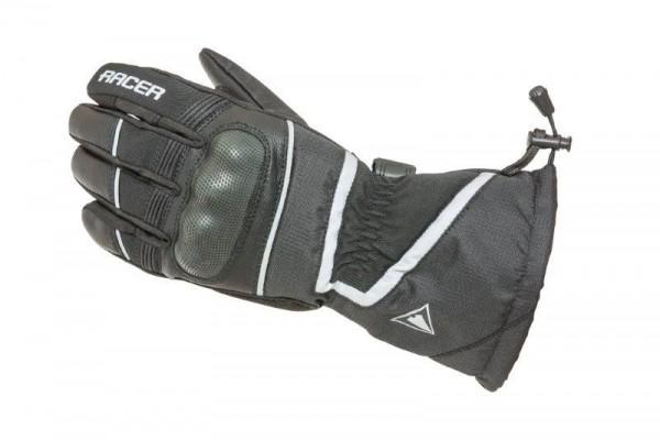 RACER Winter Handschuhe NEBRASKA schwarz
