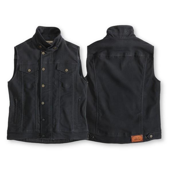 ROKKER Weste BLACK JACK Vest black