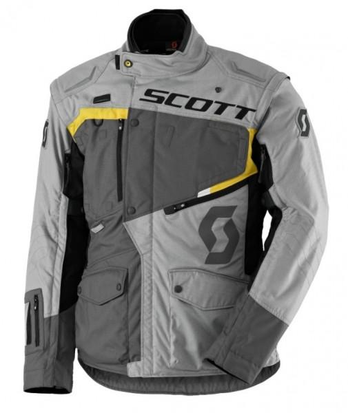 SCOTT Textiljacke DUALRIDE DP grau-gelb