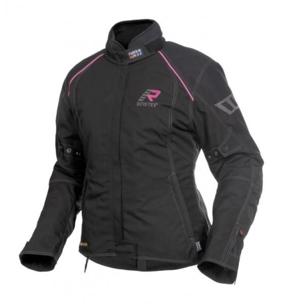 RUKKA Damen Textiljacke SALLI Lady schwarz-pink GORE-TEX®