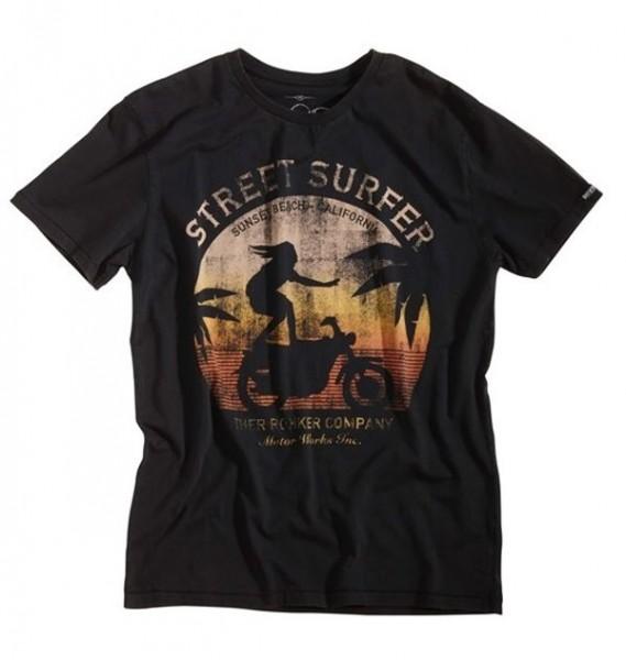 ROKKER T-Shirt STREET SURFER black