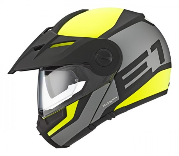 SCHUBERTH Dualsport-Helm E1 GUARDIAN gelb