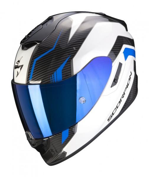 SCORPION Integralhelm EXO-1400 AIR FORTUNA weiss blau