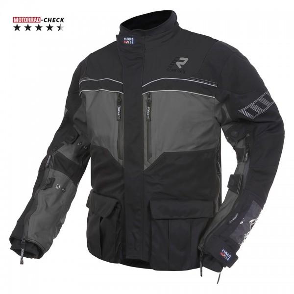 RUKKA Textiljacke R.O.R Gore-Tex® 3-schwarz-grau