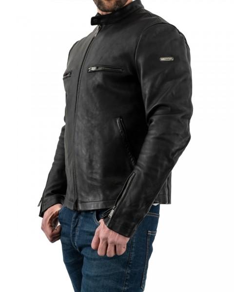 ROKKER Lederjacke COMMANDER Leather Jacket-