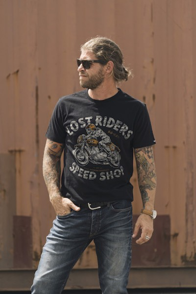 ROKKER T-Shirt LOST RIDERS black