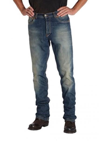 ROKKER Jeans ORIGINAL ROKKER 1000 blau mit Reißverschluss