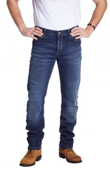 ROKKER Jeans ROCKERTECH PANT SLIM STRAIGHT 1061 blau