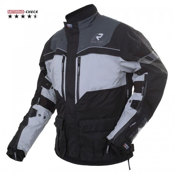RUKKA Textiljacke R.O.R Gore-Tex® 3-schwarz-hellgrau